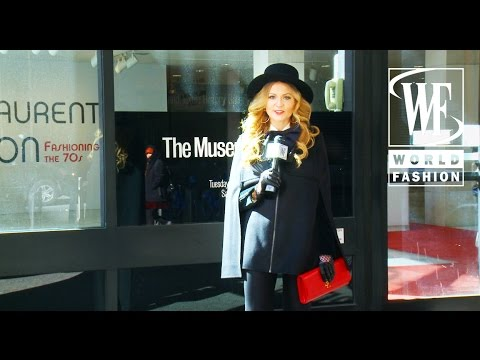 "Fashion And Art with Olga Lomaka: ""Yves Saint Laurent + Halston Fashioning The 70s"" Exhibition"