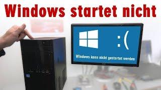 Windows startet nicht mehr - Probleme beheben - Updateproblem - [4K]