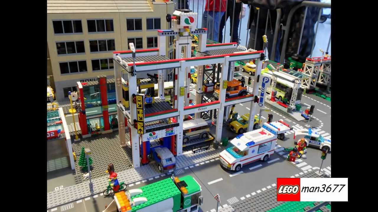 Lego City Summer Set 2012 4207 Car Parkgarage Hd Youtube