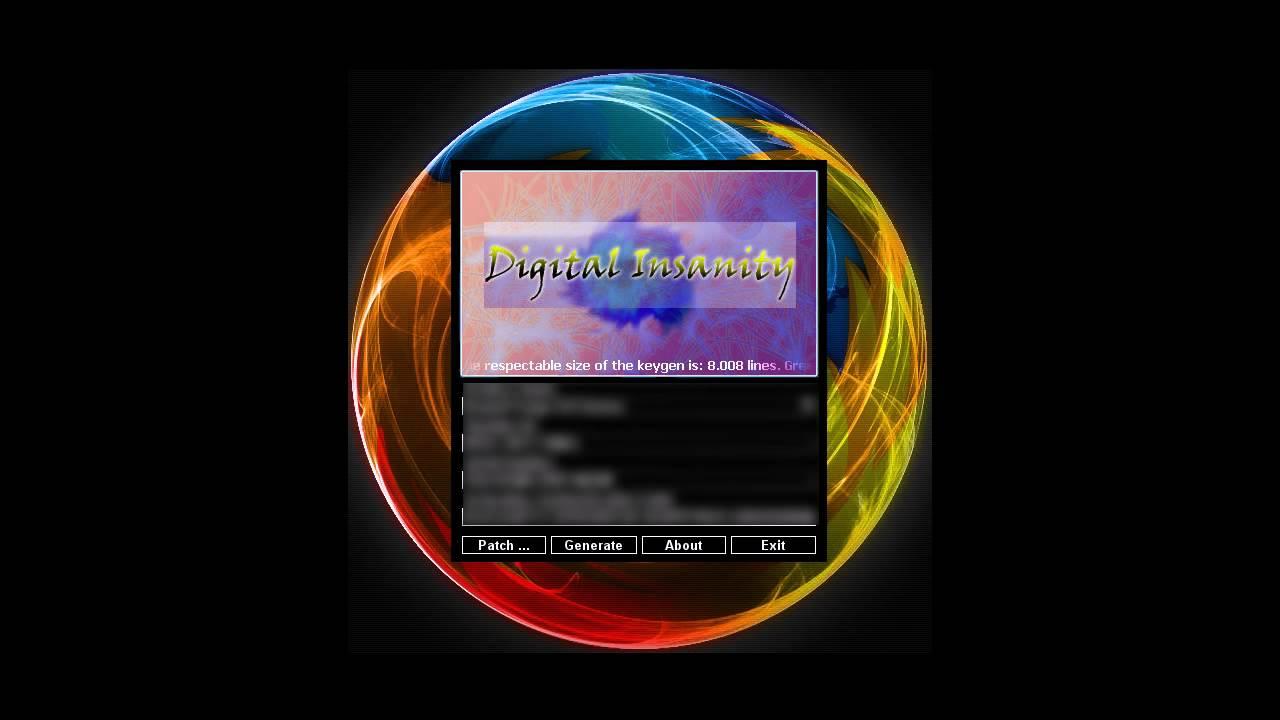 Digital insanity keygen Only Download