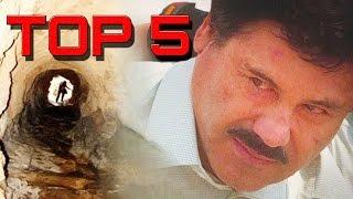 TOP 5 Fugas de Prisión Más Sorprendentes de la Historia -Chapo Guzman