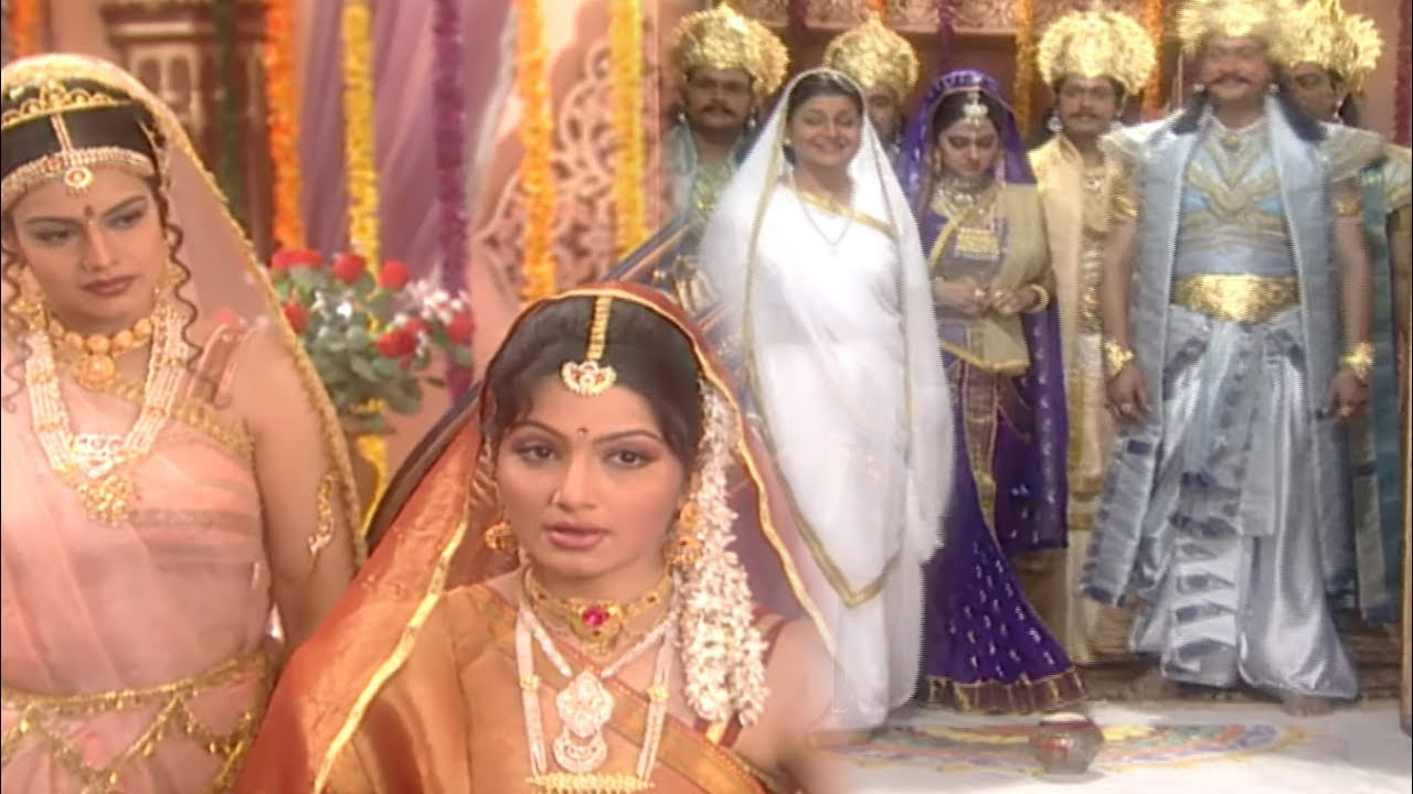 Download द्रौपदी का गृह प्रवेश कैसे हुआ क्यों दुर्योधन की बहन अंदर जाने रोका - Mahabharat - Draupadi Ep 22