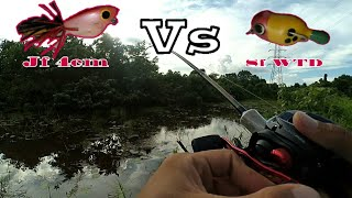 Download Video Testing.!!!  Lure Jumpfrog Vs SF Wtd For casting Snakehead MP3 3GP MP4