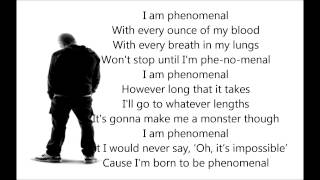 Eminem - Phenonemal Lyrics * Best lyrics song*