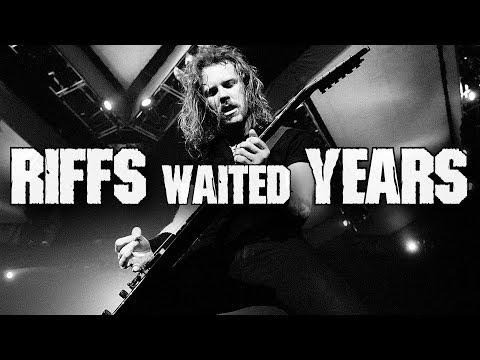 5 riffs waited MANY YEARS to become awesome Metallica songs | Andriy Vasylenko