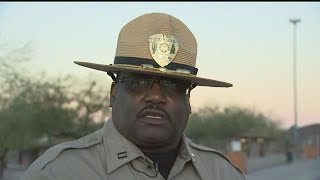 RAW VIDEO: DPS briefing on shooting that shut down Interstate 10