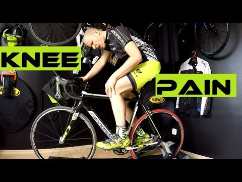 Bike Fitting - 4 Main Knee Pain Syndromes Of Cyclists. Saddle / cleats position...