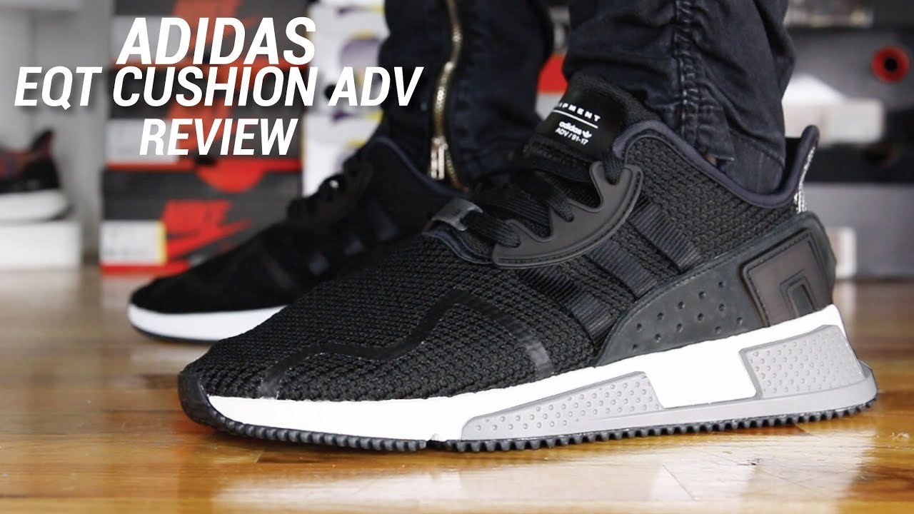b00cbbcea902 ADIDAS EQT CUSHION ADV REVIEW - YouTube