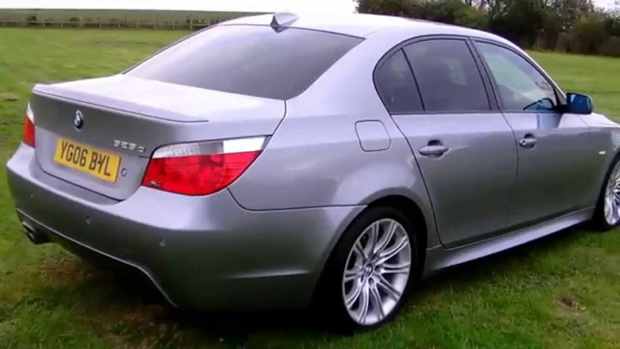 bmw 525d m sport automatic 2006 youtube. Black Bedroom Furniture Sets. Home Design Ideas