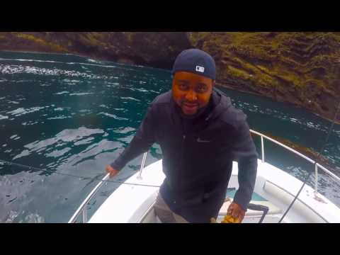 fishing with ray j and friends fishing santa barbara island for calico bass and rock fish fish