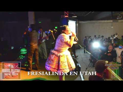 FRESIA LINDA EN UTAH 2014 - VIDEOS EN UTAH RADIO SHOW