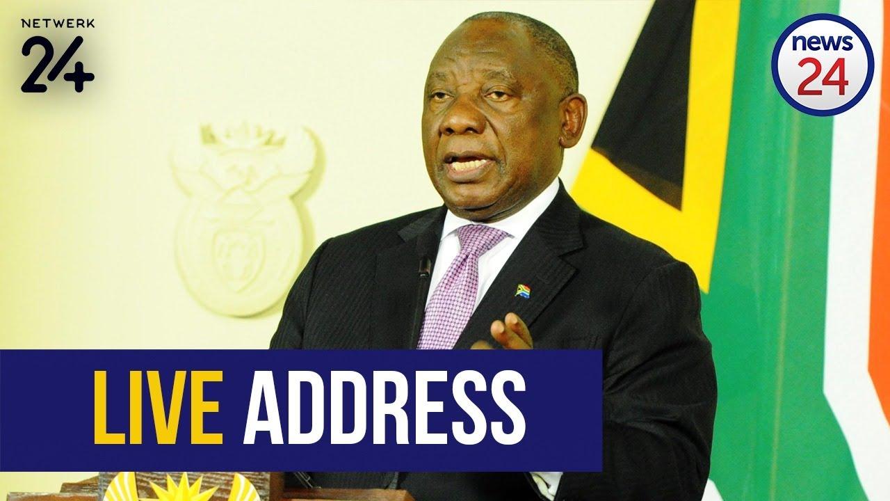 WATCH LIVE | President Cyril Ramaphosa to address South Africa on coronavirus - News24