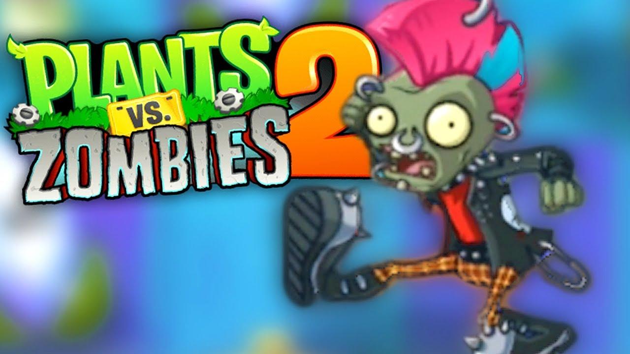 PLANTES VS ZOMBIES 2 #39 : La danse des zombies - YouTube