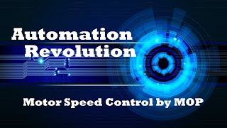 Motor Speed Control in Electrical VFD by Motor Potentiometer (MOP) Configuration