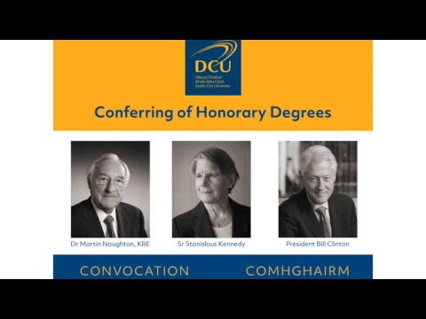 DCU Honorary Doctorate Conferring Ceremony