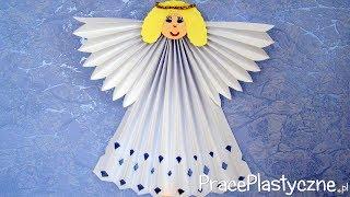 Jak zrobić aniołka z papieru?