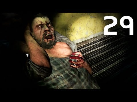 The Last Of Us Walkthrough Part 29 - Underground Tunnel (Survivor Difficulty)