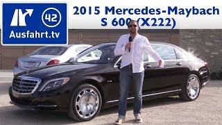 2015 Mercedes-Maybach S600 V12 - Test Review Fahrbericht Probefahrt (German)(, 2015-01-12T05:26:54.000Z)