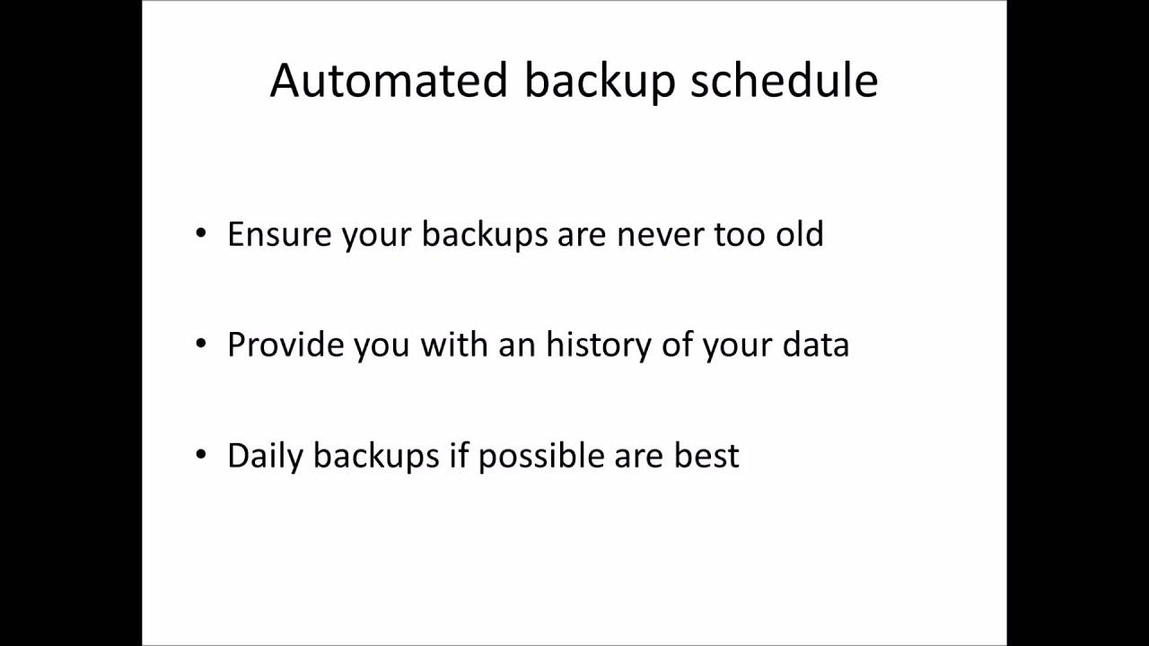 Best practices in SQL Server 2012 Backups - YouTube