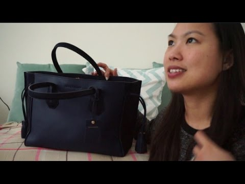 9ae3d2768124 Longchamp Penelope Fantaisie Medium tote REVIEW - what s in my bag ...