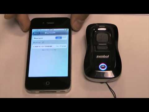 Connecting A Motorola Cs3070 Barcode Scanner To An Apple Iphone Via