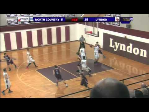North Country vs. Lyndon Institute - Boys Basketball - 1/12/16
