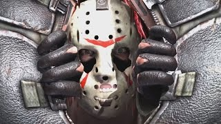 mortal kombat x jason voorhees performs all intros x ray moves victory poses and fatalities