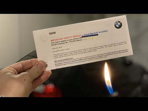 BMW IMPORTANT SAFETY RECALL! Final Remedy Available!