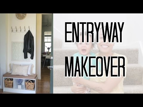 Cheap Small Entryway Makeover