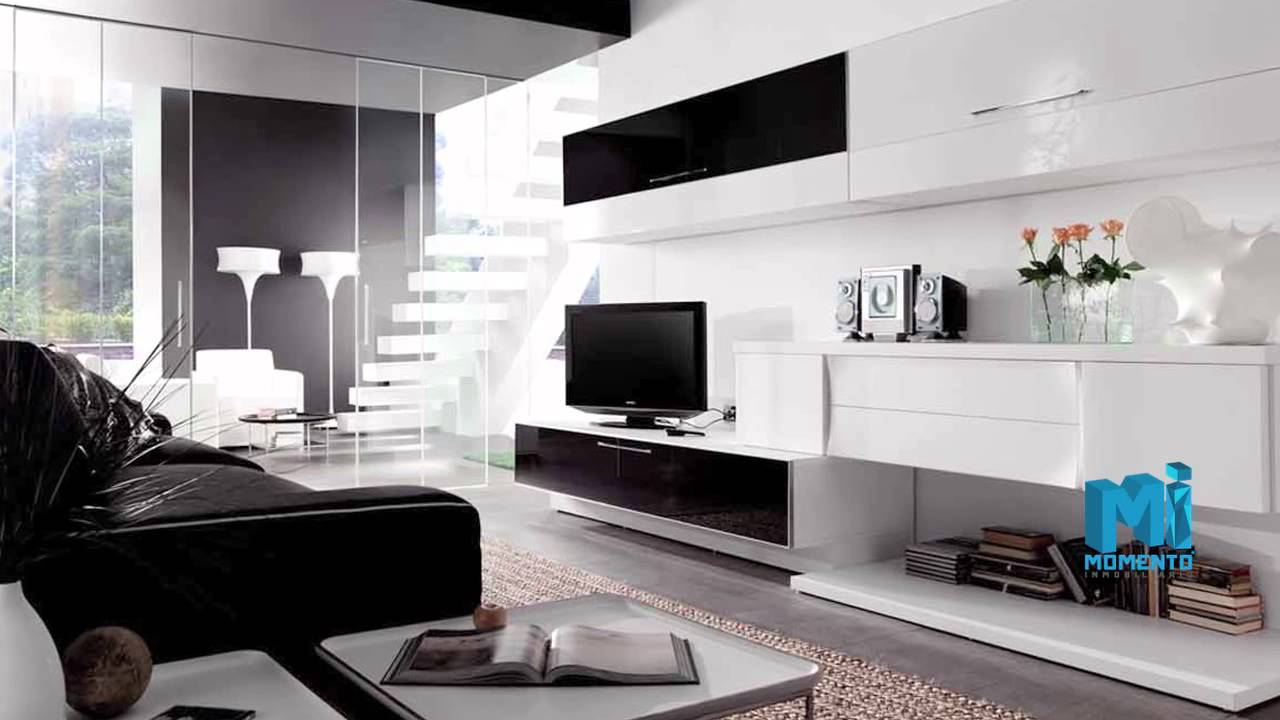 Decoración sala minimalista - YouTube