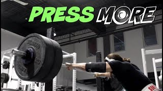 The EASIEST Way To Overhead Press MORE Weight