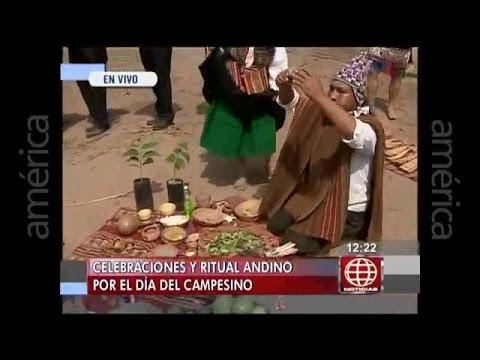 Baixar Pagapu a la Pachamama, en América Noticias 23/06/2015