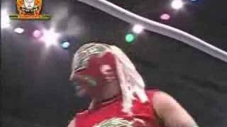 Shiima Xion/Joe Lider vs. El Generico/Crazy Boy PART 1