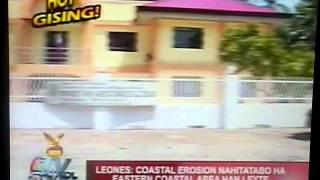 HOY GISING: DULAG, LEYTE COASTAL EROSION (Source: TV Patrol Tacloban)