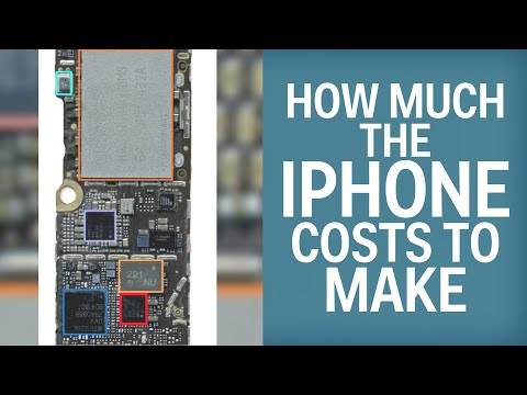 Here's How Much Every Part Of The iPhone 6 Really Costs
