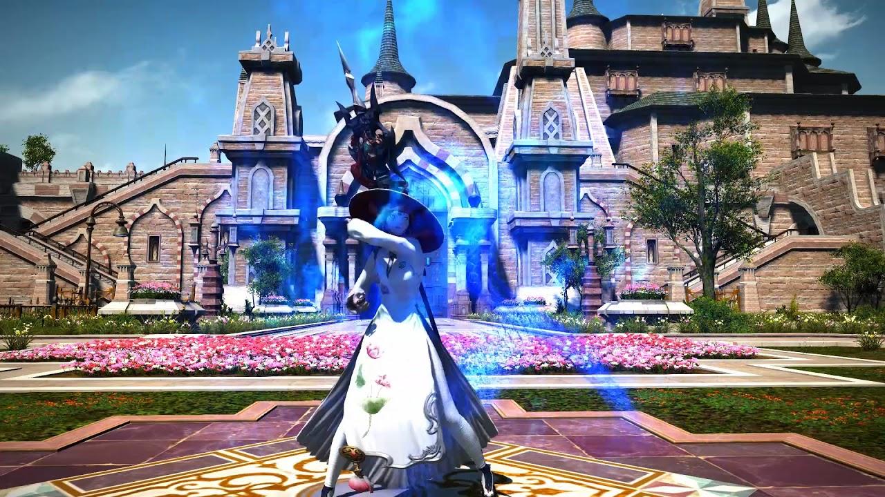 Final Fantasy XIV Stormblood AF3 Transformation Sequence