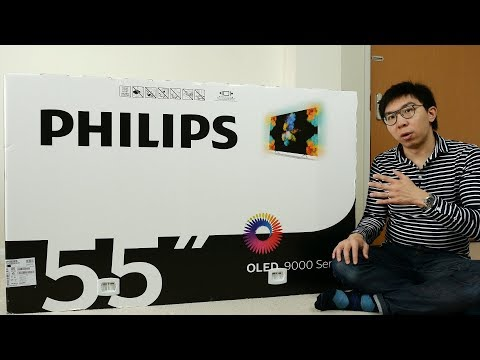 Philips 9002 OLED TV Unboxing + Picture Settings