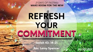 Refresh Your Commitment