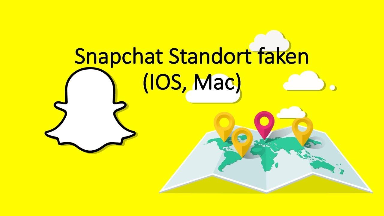Standort Snapchat