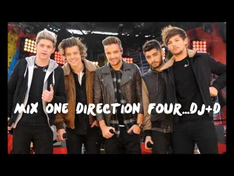 Mix One Direction Four   Dj+d