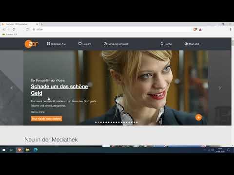 Blitzschnell aus ARD/ZDF Mediathek downloaden: MediathekViewWeb (direkt im Browser!)