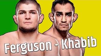 Der größte Kampf im MMA im Jahr 2020!!! Tony Ferguson vs. Khabib