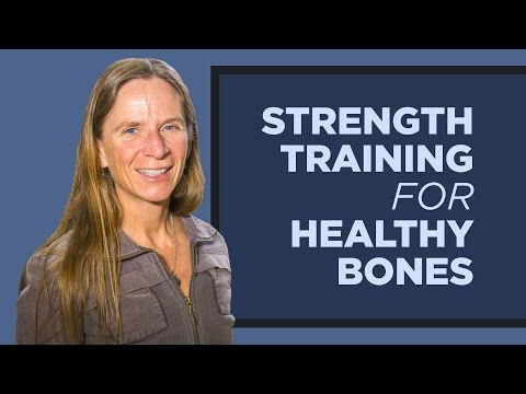 Strength Training Promotes Bone Health In Men