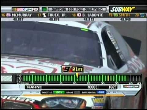 2007 NNC Daytona 500 Pole Qualifying