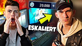 "He secretly buys V-bucks with my money😡 ""PRANK"" ESCALATES... (FORTNITE)"