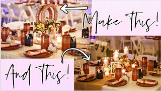 💍Centro De Mesa Para BODA / XV! SUPER EASY AND CHEAP! WEDDING CENTERPIECE TO WOW YOUR GUESTS !! 💍MUST SEE!