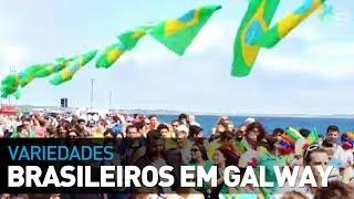 Os brasileiros segundo os Irlandeses - Salthill/Galway - E-Dublin TV