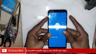 how to hard reset Pattern Unlock Samsung galaxy A6+ 2018