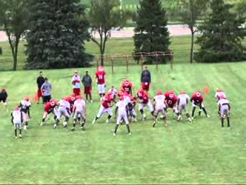 2010 USD Football Practice - Week 2