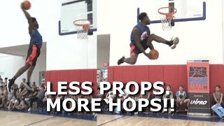 Less props. MORE HOPS! Wins Dunk Contest with 360 Between the Legs DUNK | Doug Anderson Video